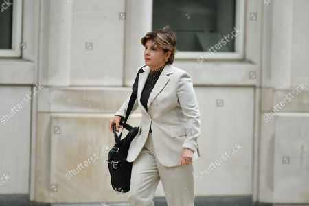 Gloria Allred arrives to the arraignment of R Kelly