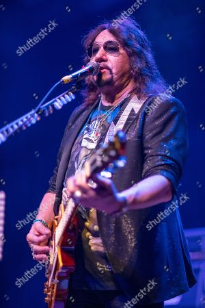 Ace Frehley performs at the Arcada Theatre, in St.Charles, Ill