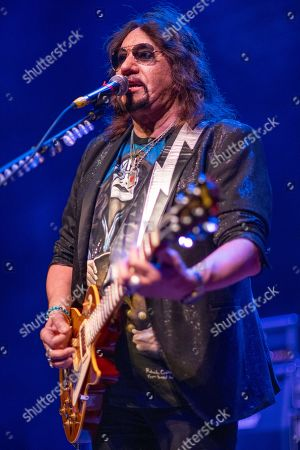 Stock Image of Ace Frehley performs at the Arcada Theatre, in St.Charles, Ill