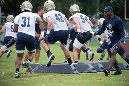 Editorial photo of Navy Football, Annapolis, USA - 02 Aug 2019