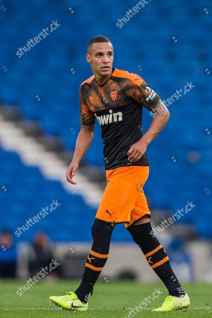 Rodrigo Moreno Machado (Valencia) during the Pre-Season Friendly match between Brighton and Hove Albion and Valencia CF at the American Express Community Stadium, Brighton and Hove