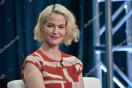 "Leisha Hailey participates in the Showtime ""The L Word: Generation Q"" panel during the Summer 2019 Television Critics Association Press Tour at the Beverly Hilton Hotel, in Beverly Hills, Calif"