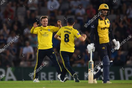 Editorial picture of Hampshire County Cricket Club v Glamorgan County Cricket Club, Vitality T20 Blast South Group - 02 Aug 2019