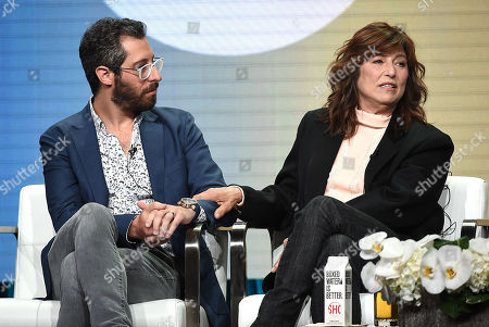 Catherine Keener and Dave Holstein