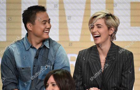 Leo Sheng and Jacqueline Toboni
