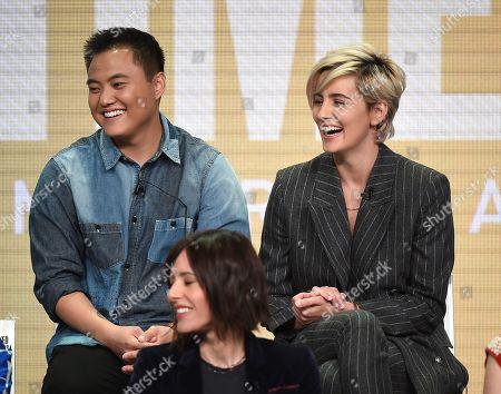 Stock Photo of Leo Sheng and Jacqueline Toboni