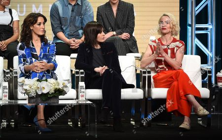 Jennifer Beals with Katherine Moennig and Leisha Hailey