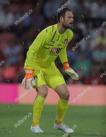 Stock Image of Asmir Begovic of Bournemouth