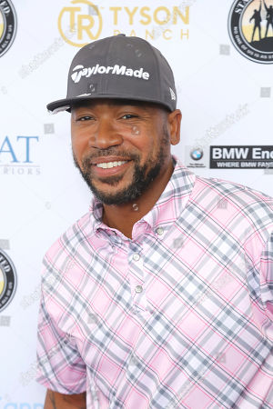 Columbus Short attends the Mike Tyson Standing United and the Tyson Ranch Celebrity Golf Tournament, in Dana Point, Calif