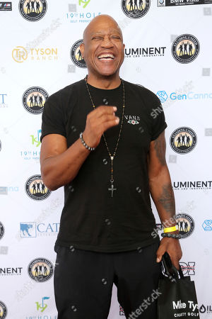 Tommy Lister attends the Mike Tyson Standing United and the Tyson Ranch Celebrity Golf Tournament, in Dana Point, Calif