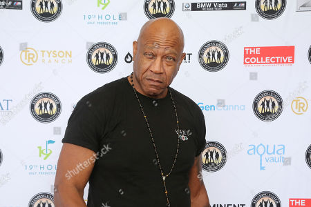Tommy ' Tommy Lister attends the Mike Tyson Standing United and the Tyson Ranch Celebrity Golf Tournament, in Dana Point, Calif