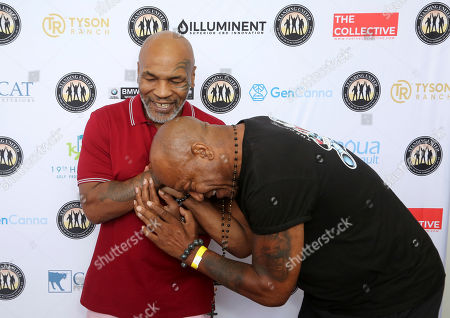 Editorial picture of Mike Tyson, Standing United and the Tyson Ranch Celebrity Golf Tournament, Dana Point, USA - 02 Aug 2019