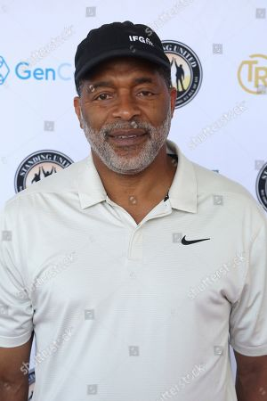 Stock Image of Norm Nixon attends the Mike Tyson Standing United and the Tyson Ranch Celebrity Golf Tournament, in Dana Point, Calif