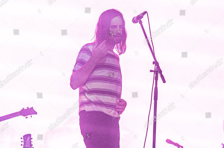 Kevin Parker of Tame Impala performs on day two of Lollapalooza in Grant Park, in Chicago