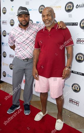 Columbus Short and Mike Tyson