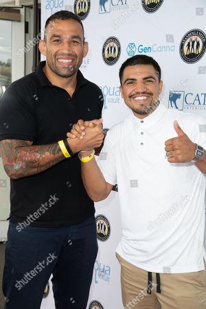 Fabricio Werdum and Victor Ortiz