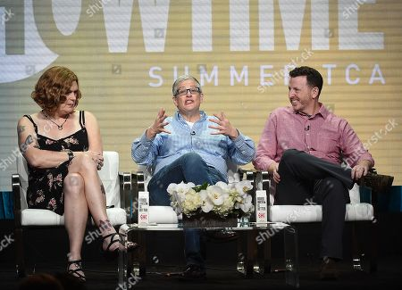 Abby McEnany with Tim Mason and Lilly Wachowski
