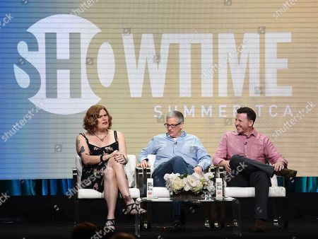 Editorial image of Showtime 'Work in Progress' TV show panel, TCA Summer Press Tour, Los Angeles, USA - 02 Aug 2019
