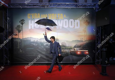 Luigi Lo Cascio at the Italian Premiere and red carpet of the movie, Once upon a time in... Hollywood, in Rome, Italy, 02 August 2019.