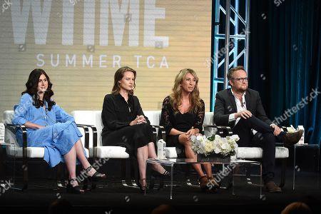 Daisy Haggard with Harry Williams, Sarah Hammond and Laura Solon