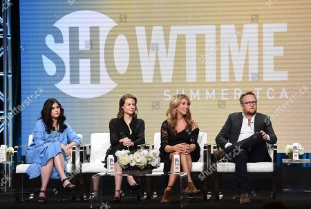 Editorial photo of Showtime 'Back to Life' TV show panel, TCA Summer Press Tour, Los Angeles, USA - 02 Aug 2019