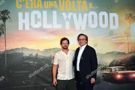 Stock Image of Brando De Sica and Christian De Sica