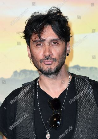 Stock Photo of Fabrizio Moro