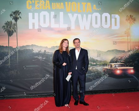 David Heyman and his wife Rose Uniacke