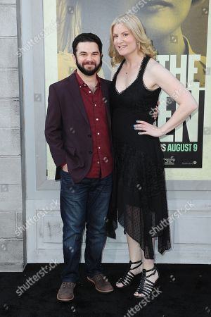 Stock Picture of Samm Levine and Rachel Cushing