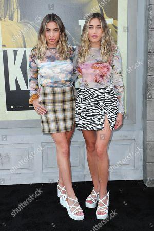 Allie Kaplan and Lexi Kaplan