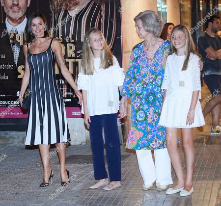 Spanish Royals attend Swan Lake, Palma, Majorca