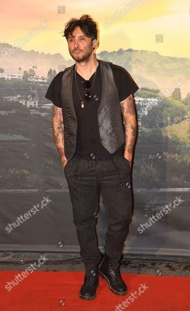 Stock Image of Fabrizio Moro
