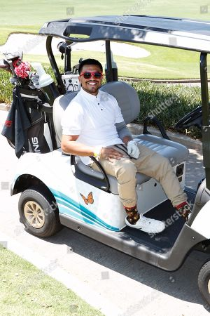 US boxer and actor Victor Ortiz participates in the first Mike Tyson Charity Golf Tournament benefitting Standing United at the Monarch Beach Resort in Dana Point, California, USA, 02 August 2019. The tournament was sponsored by the Tyson Ranch and aims to raise money and help people affected by addiction and homelessness.