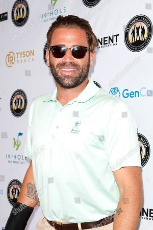 US actor Jason Wahler attends the first Mike Tyson Charity Golf Tournament benefitting Standing United at the Monarch Beach Resort in Dana Point, California, USA, 02 August 2019. The tournament was sponsored by the Tyson Ranch and aims to raise money and help people affected by addiction and homelessness.