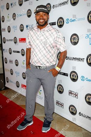 Stock Image of US actor Columbus Short attends the first Mike Tyson Charity Golf Tournament benefitting Standing United at the Monarch Beach Resort in Dana Point, California, USA, 02 August 2019. The tournament was sponsored by the Tyson Ranch and aims to raise money and help people affected by addiction and homelessness.