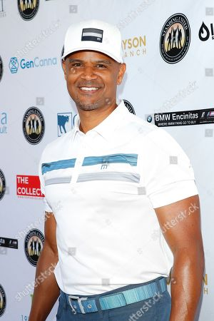 US actor Dondre Whitfield attends the first Mike Tyson Celebrity Golf Tournament benefitting Standing United at the Monarch Beach Resort in Dana Point, California, USA, 02 August 2019. The tournament was sponsored by the Tyson Ranch and aims to help people affected by addiction and homelessness.