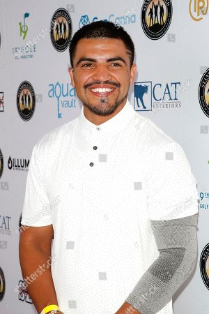Stock Picture of US boxer and actor Victor Ortiz attends the first Mike Tyson Charity Golf Tournament benefitting Standing United at the Monarch Beach Resort in Dana Point, California, USA, 02 August 2019. The tournament was sponsored by the Tyson Ranch and aims to raise money and help people affected by addiction and homelessness.