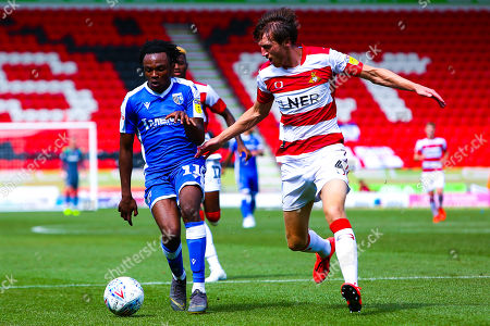 Editorial photo of Doncaster Rovers v Gillingham, UK - 03 Aug 2019