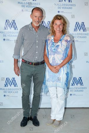 Stock Picture of Prince Kyril of Bulgaria and Katharine Butler