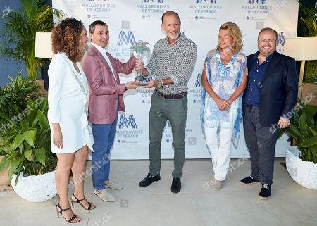 Editorial image of 'Mallorquin Del Verano' Award, Palma, Majorca, Spain - 02 Aug 2019