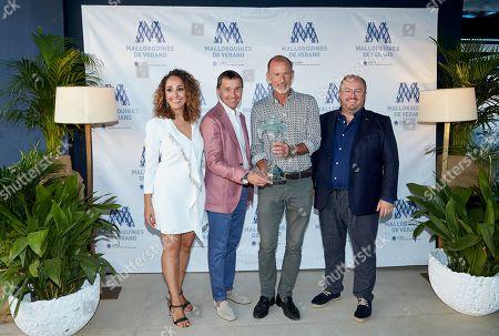 Editorial picture of 'Mallorquin Del Verano' Award, Palma, Majorca, Spain - 02 Aug 2019