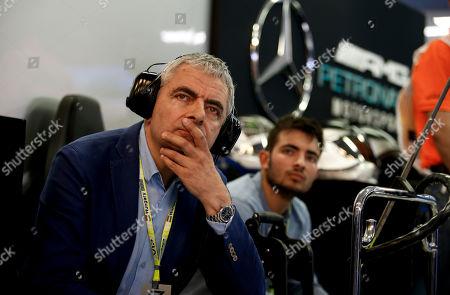 Motorsports: FIA Formula One World Championship 2019, Grand Prix of Hungary,   Rowan Atkinson (GBR)