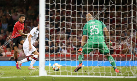 Editorial picture of Manchester United v AC Milan, International Champions Cup, Football, Principality Stadium, Cardiff, UK - 03 Aug 2019