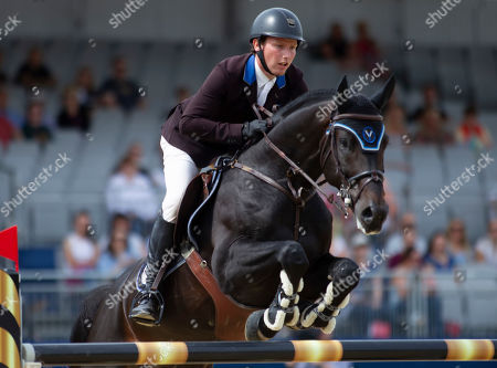 Stephen Moore (IRL) riding Chic Chic during the CSI2* 1.40/1.45m Jumping Competition