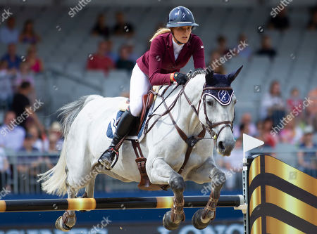 Editorial image of Longines Global Champions Tour and Global Champions League, Royal Hospital Chelsea, London, United Kingdom, 3rd August 2019