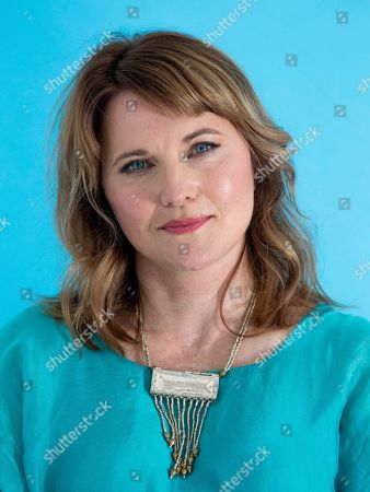 """Stock Photo of This photo shows actress Lucy Lawless posing for a portrait in New York to promote her new crime TV series """"My Life Is Murder,"""" which premieres on Acorn TV starting Aug. 5"""
