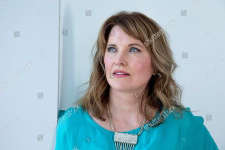 """Stock Picture of This photo shows actress Lucy Lawless posing for a portrait in New York to promote her new crime TV series """"My Life Is Murder,"""" which premieres on Acorn TV starting Aug. 5"""