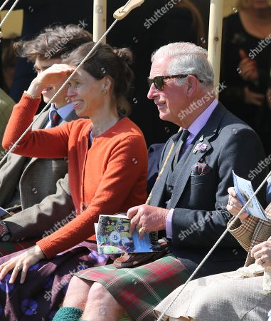 Arthur Chatto, Lady Sarah Chatto and Prince Charles