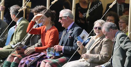 Stock Picture of Daniel Chatto, Arthur Chatto, Lady Sarah Chatto, Prince Charles, Lady Thurso and David Armstrong-Jones