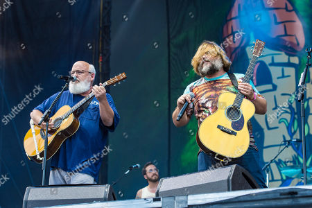 Kyle Gass, Jack Black. Kyle Gass, left, and Jack Black, right, of Tencacious D perform on day three of Lollapalooza in Grant Park, in Chicago